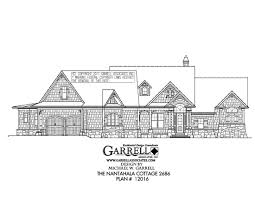 Country Cottage House Plans Nantahala Cottage 2686 House Plan Country Farmhouse Southern