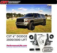dodge ram 3500 lift kit cst 2003 2008 dodge ram 2500 3500 6 5 lift csk d23 5