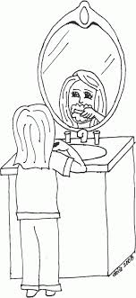 Brushing Teeth Coloring Pages Printable Brushing Teeth Coloring Pages