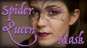 Spider Halloween Makeup Spider Queen Halloween Makeup Tutorial Youtube