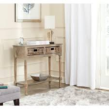 Pine Changing Table by Safavieh Corbin Washed Natural Pine Storage Console Table Amh5716b