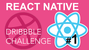 dribbble react native dribbble challenge 1 youtube
