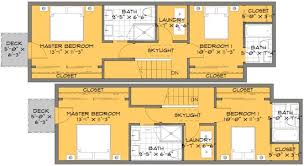 floor plans for small houses modern a skinny solution for small house floor plans