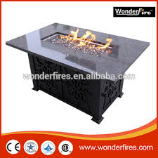 outdoor gas fire pit table rectangle granite outdoor gas fire pit table buy outdoor gas fire