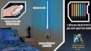 Lightsaber Bedroom Light Wars Lightsaber Room Light Keeps The Strong In Your Bedroom