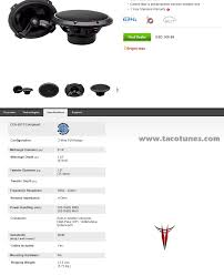 toyota product line will rockford fosgate t1692 rockford t165 fit toyota tundra