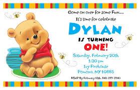 free printable winnie the pooh birthday invitations drevio