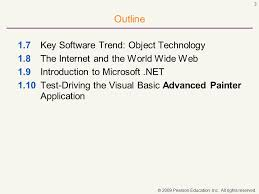 visual basic advanced tutorial t u t o r i a l 2009 pearson education inc all rights reserved