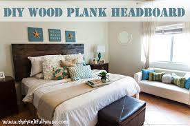 Wood Pallet Headboard Outstanding Diy Wood Headboard Ideas Photo Decoration Inspiration