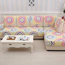 Chaise Lounge Slipcover Colorful Cotton Dot Sleep Sofa Slip Covers Settee Sectional Couch