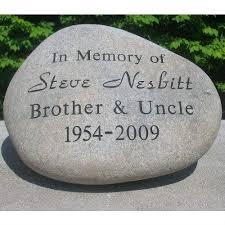personalized garden stones personalized garden rocks garden memorial personalized