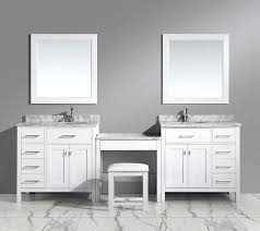design element bathroom vanities bathroom vanity with makeup station cosy sink vanity with