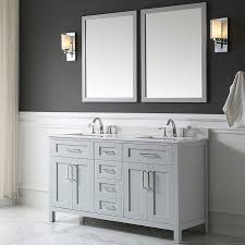 Bathroom Vanities And Mirrors Sets Ove Decors Tahoe 60 Bathroom Vanity Set With Mirror In