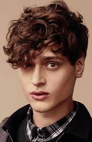 the angular fringe hairstyle 37 of the best curly hairstyles for men fashionbeans