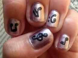 musical nail art choice image nail art designs