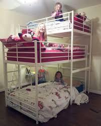 triple bunk bed diy ikea hackers