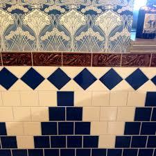 Victorian Mosaic Floor Tiles Victorian Cressage Decorative Tiles 75x152mm Laurel Or Chestnut