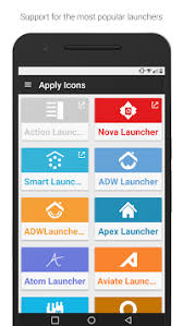 atom launcher apk flight flat icons free version apk