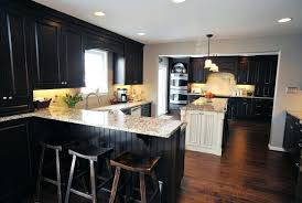 dark kitchen cabinets with light floors dark kitchen cabinets with dark wood floors pictures kitchen