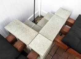 L Bench Diy Cinder Block Bench Mince Republic