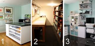 Basement Office Design Ideas Remodelaholic Fun Craft Room Makeover