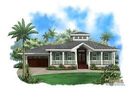 Cottage Style Home Floor Plans Key West House Plans Elevated Coastal Style Architecture With