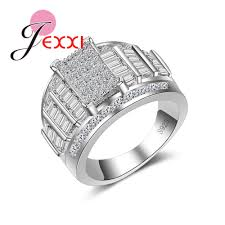 simple fashion rings images Jexxi fashion simple fully studded with aaa cubic zircon and clear jpg