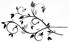 room mates wayfair deco scroll branch foil leaves wall decal