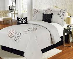 California King Black Comforter Black Comforter Set King Home Design Ideas