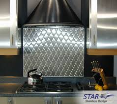 stainless steel kitchen backsplash panels stainless