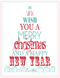 free printable merry happy new year
