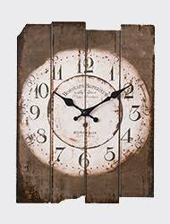 Grande Horloge Murale Carrée En Bois Vintage Achat Horloges Murales En Promotion En Ligne Collection 2018 De Horloges