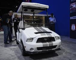 coolest ford mustang ford mustang golf cart photos the coolest the wackiest the
