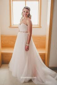 wedding plus winter ivory gown strapless tulle plus size wedding dress
