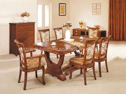 Types Of Dining Room Tables Dining Room Furniture Wooden Dining Tables And Chairs Designs