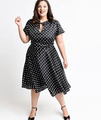 s retro plus size dresses pin up to swing dresses plus size polka