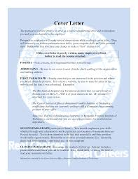 100 purpose cover letter what is an example of a cover