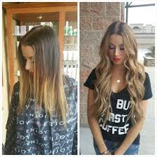 22 inch extensions before and after 22 inch beaded row extensions and
