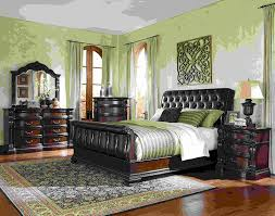 Girls Canopy Bedroom Sets Bedroom Girls Canopy Bedroom Sets With Green Wall Design And