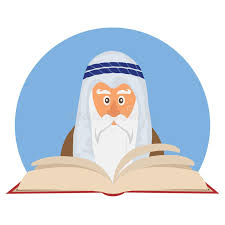 santa haggadah moses reading passover haggadah stock vector illustration of