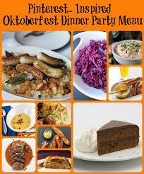 oktoberfest menus and recipes oktoberfest dinner party inspired oktoberfest menu