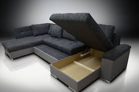 SOFA BED DOUBLE CHAISE RIGHT HAND CORNER GROUP - Chaise corner sofa bed