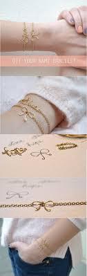 easy name bracelet images 18 ideas for diy fashion crafts pinterest bracelets craft and jpg