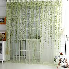 Tree Curtains Ikea Aliexpress Com Buy Saideng Home Textile Tree Willow Curtains