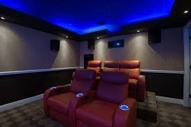 Theatre Room Design - grandma is the inspiration for this home theater room here are