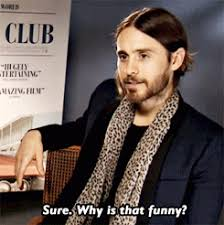 Jared Leto Meme - jared leto gif find share on giphy