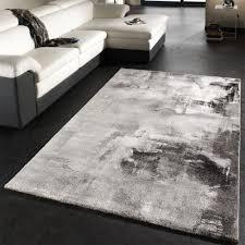 tappeti design moderni tappeto dal design moderno e motivo tela effetto m礬lange grigio