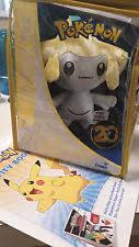 pokemon 20th anniversary small plush victini toys jirachi plush pokemon ebay