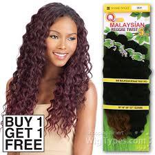 human hair using twists milky way que human hair blend weave malaysian reggae twist 5