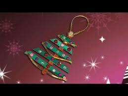 Christmas Tree Decoration Craft Ideas - nice christmas tree crafts ideas for christmas decoration youtube